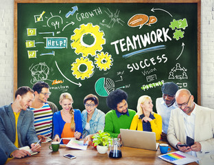 Teamwork Team Together Collaboration Education Learning Studying