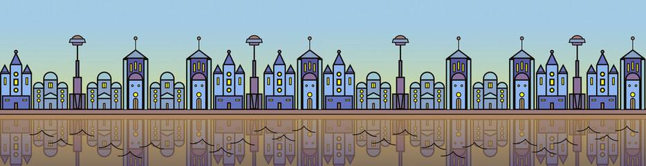 Seamless city buildings