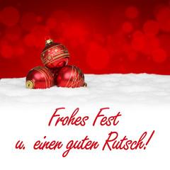 Frohes Fest u. guten Rutsch!