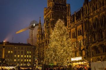 Christkindlmarkt am Marienplatz München