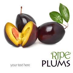 Three sweet plums