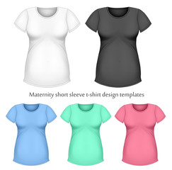 Maternity short sleeve t-shir