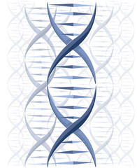 DNA vector background