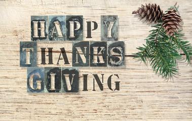 thanksgiving motif collage