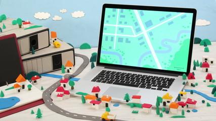 Housing development & city planning concept