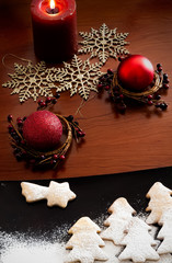 White Christmas - Decoration and cookies