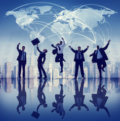 Business People Collaboration Team Teamwork Professional Concept