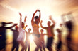 Dancing Party Enjoyment Happiness Celebration Outdoor Beach Conc
