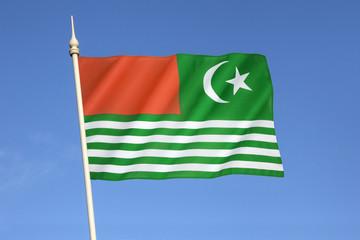Flag of Kashmir - India