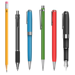 Pens and pencil