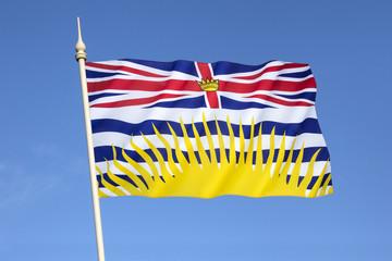 Flag of British Columbia - Canada