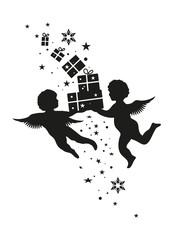 Engel und Geschenke
