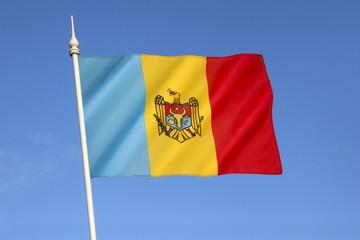 Flag of the Moldovia