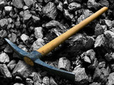 Tool for coal mining.