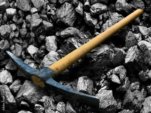 Tool for coal mining. - 74132576