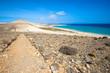 GR 131, long-distance footpath in Fuerteventura (Spain)