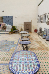 Keramiek shop in Fes
