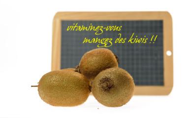 mangez des kiwis,faites le plein de vitamines