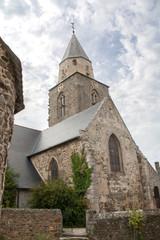 Eglise de saint Suliac, Monument historique, Bretagne