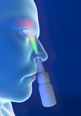 Naso raffreddore, spray nasale, congestione