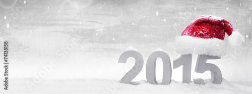 canvas print picture Background for christmas and new year