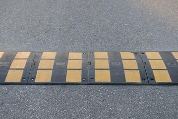 road marking speed bumps