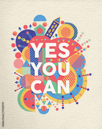Yes you can quote poster design Poster