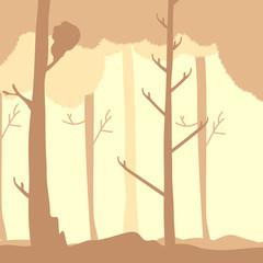 sfondo alberi