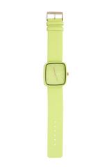 Green wristwatch