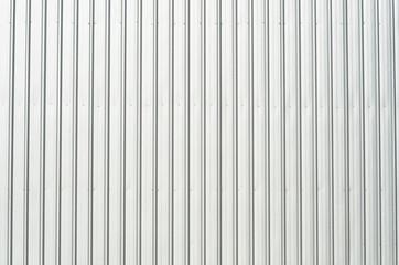 Galvanized iron wall of factory