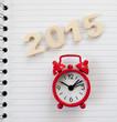 2015 réveil matin cahier a spirales