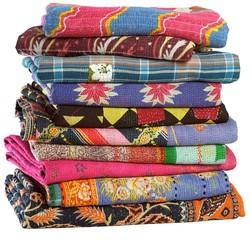 Vintage Sari Plaids