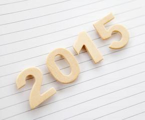 2015 sur feuille lignée