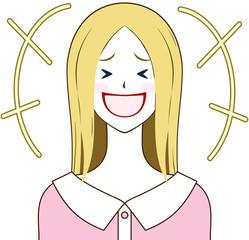 女性 爆笑