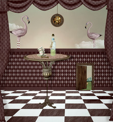 Wonderland series - Surreal drink room