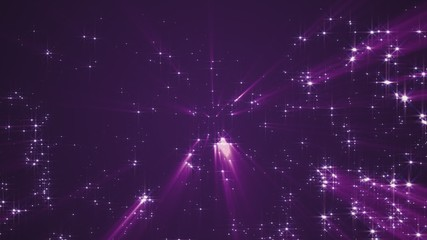abstract particles stars 4