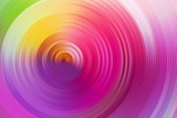 Fototapeta Abstract rainbow spiral, colorful background.