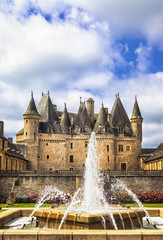 castles of France - fairy Jumilhac-le-grand