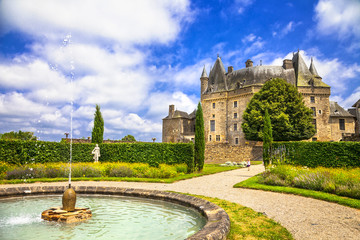 fairy castles of France -Jumilhac-le-grand