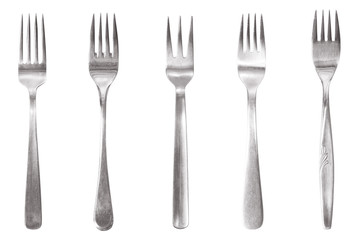 five different fork