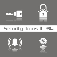 Iconos seguridad serie 2 FO reflejo