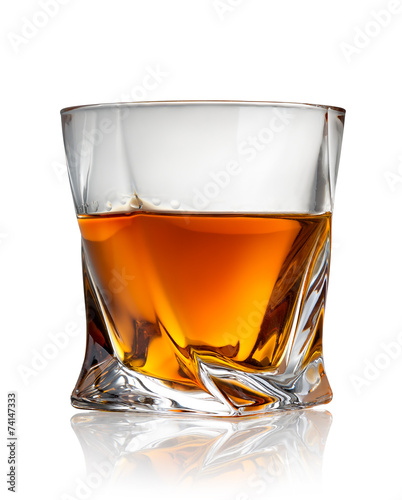 Fotobehang Alcohol Glass of cognac