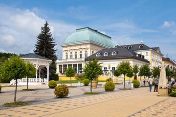 FRANTISKOVY LAZNE, CZECH REPUBLIC spa town
