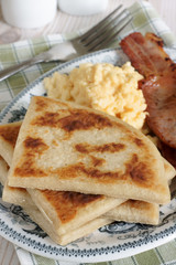 Irish Potato Farls or Potato Cakes