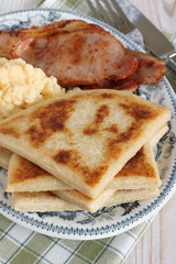 Irish Potato Farls or Potato Cakes