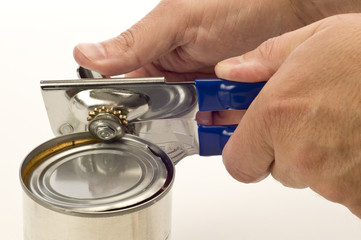 Using Can Opener