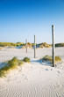 canvas print picture - coastal dune Sankt Peter-Ording