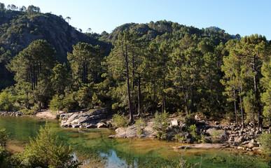 Solenzara rivière de Corse