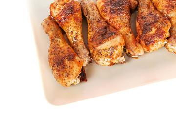 Roasted chicken background