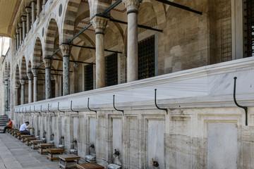 Istambul ingresso moschea
